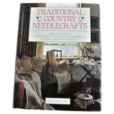 "Book ""Traditional Country Needlecrafts"" Instructions for Needlecrafts"