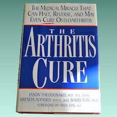 "Book ""The Arthritis Cure"" First Edition"
