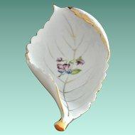 UCAGCO Japan Curled Leaf Porcelain Dish