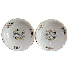 Two Edelstein Bavaria Fruit Dessert Bowls