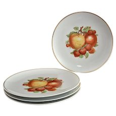 Bavaria Germany Luncheon Plate Fruits Center