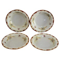 Wembley Pattern by Harmony House Set Four of Dessert Bowls