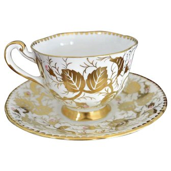 Royal Chelsea No. 193A Bone China Tea Cup and Saucer