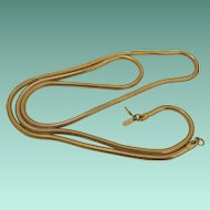 36 Inch Monet Snake Chain Necklace