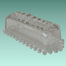 Candlewick Imperial Glass  Quarter Pound Butter Dish