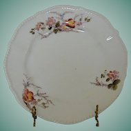 "Elite ""L"" Limoges France Antique Plate"