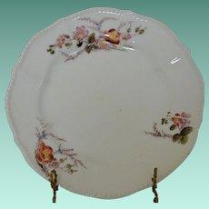 """Elite """"L"""" Limoges France Antique Plate"""