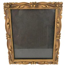Pair of 8 X !0 20th Century Molded Picture Frames 1841 Design Patent