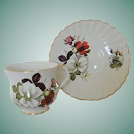 Staffordshire James Kent Old Foley Cup and Saucer Set No. 8133