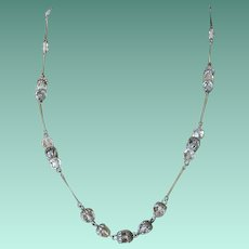 Crystal Beads Link Necklace by Act 11