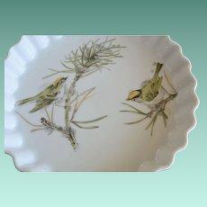 "Enesco ""Song Bird"" Series Quiche Baking Dish 9 Inch"