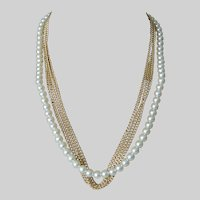"""""""Curtain Call"""" 1973 Sarah Coventry Necklace"""