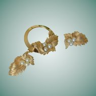 """Endearing"" 1960 Sarah Coventry Pin and Clip Earrings"
