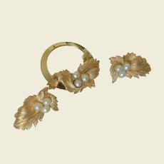 """""""Endearing"""" 1960 Sarah Coventry Pin and Clip Earrings"""
