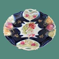Stunning ILMENAU Porcelain Factory German Porcelain Serving Plate