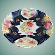 Stunning ILMENAU Porcelain Factory German Porcelain Serving Plate