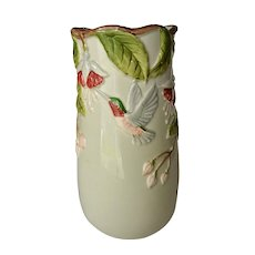 Otagiri Hand Crafted Hummingbird Art Vase