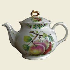 James Sadler & Sons Ltd. England Fruit Pattern  Teapot 40.0 Ounce