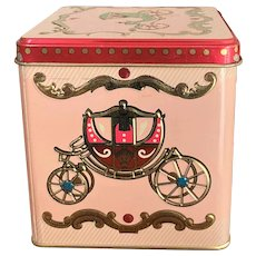 English Baret Ware Art Grace Candy/Tea  Tin with Carriage Designs