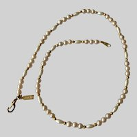 Marvella Simulated Pearls and Beads Necklace