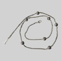 Napier Woven Rope Chain Necklace
