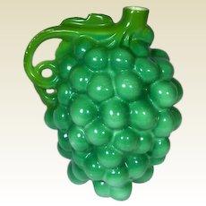 Antique, Royal Bayreuth Figural Green Grape Syrup Pot