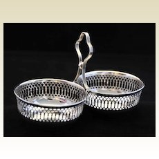 Vintage, Elegant Solid Silver Sweetmeat or Candy  Dish