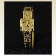 Vintage Rolled Gold Buckle Bracelet