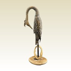 Vintage, Bronze Study, Dying Wildlife, J Petruska