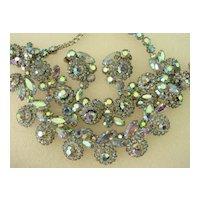 Weiss Necklace Bracelet Earring Parure Set
