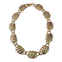 Accessory Lady Abstract Chain Design Choker Necklace 3
