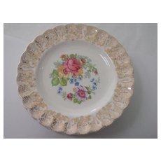 American Limoges La Marr China Set of 7 Bread Plates