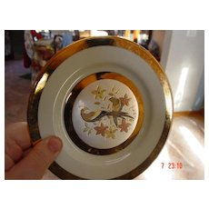 Limited Edition Chokin Yoshinobu Hara Plate
