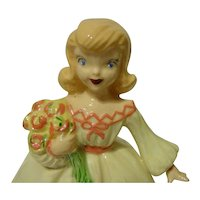 Janet Leigh Meg Little Women Porcelain Doll Figurine