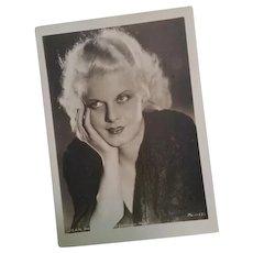 Jean Harlow Original M.G.M. Publicity Portrait Photo Metro Goldwyn Mayer  Photograph Original M.G.   MG11531
