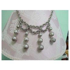 Park Lane Big Dangle Festoon Style Necklace