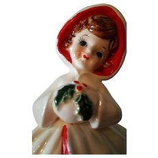 Relpo Holiday Christmas Girl Planter