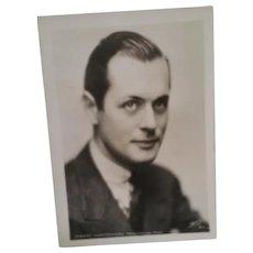 Robert Montgomery Original Metro Goldwyn Mayer Publicity Portrait (Apede 2   R.M. 2