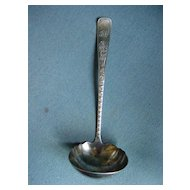 Victorian Silver Plated Serving Soup Ladle