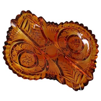 EAPG Topaz Candy Dish