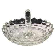 Fostoria Crystal American Pattern #2056 Ring Holder
