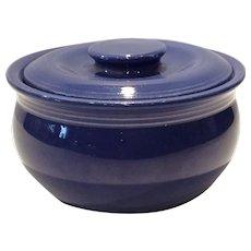 Fiesta Cobalt Kitchen Kraft Individual Casserole with Lid