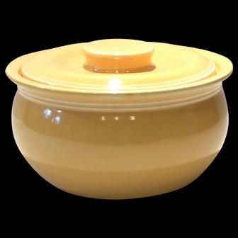Fiesta Yellow Kitchen Kraft Individual Casserole with Lid