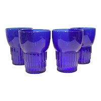 Duncan Miller Cobalt Blue Terrace Water Tumbler (multiples - available)