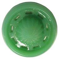 Fenton Jade Green Reamer Top Circa 1920's