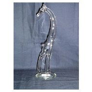 Heisey Giraffe Glass Animal