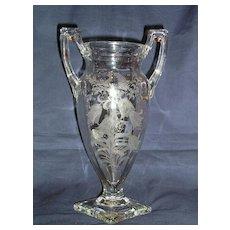 Tiffin Fuchsia Trophy Vase