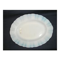 Macbeth Evans Glass Company American Sweetheart Monax Serving Platter