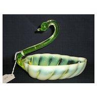 """Duncan Miller Sylvan Yellow Opalescent 5.5"""" Swan"""