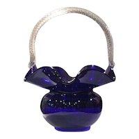 Morgantown #4357 Ritz Blue (Cobalt) Trindle Basket